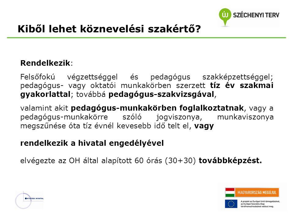 Átmeneti szabályok 2.A Pedagógus II. fokozat elérése A 2013.