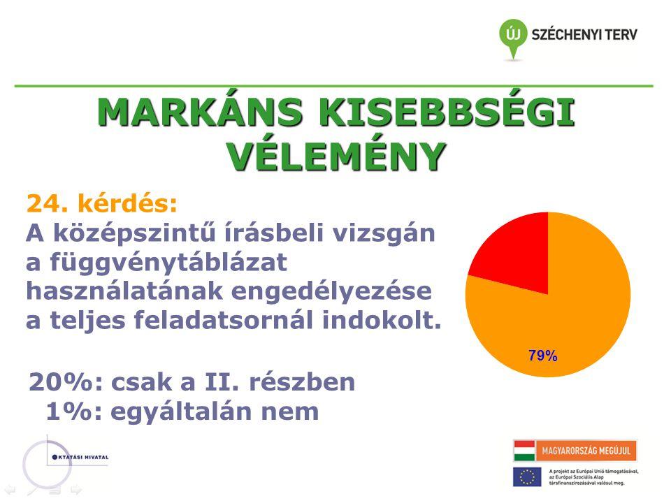 MARKÁNS KISEBBSÉGI VÉLEMÉNY 24.