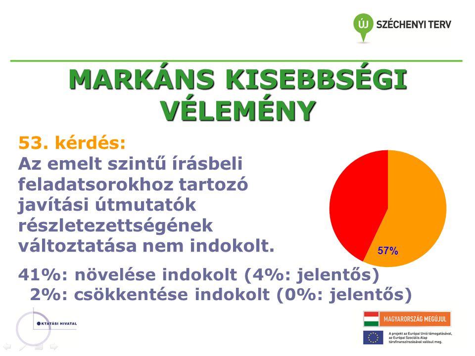 MARKÁNS KISEBBSÉGI VÉLEMÉNY 53.