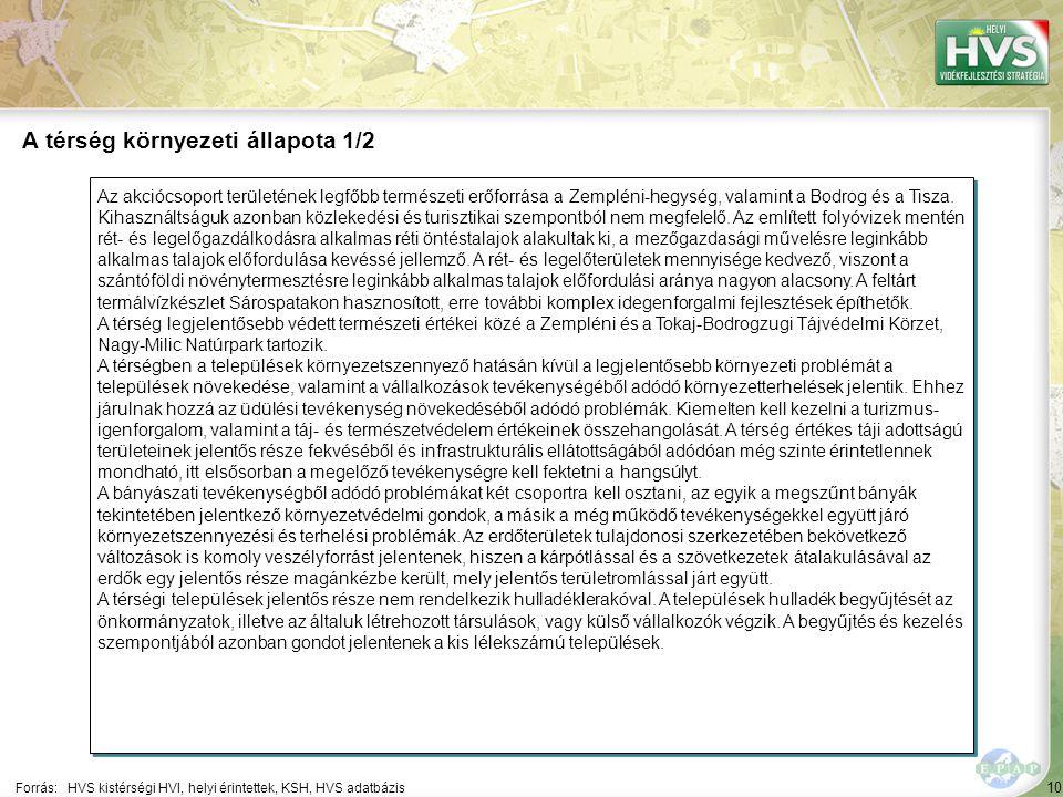 10 Az akciócsoport területének legfőbb természeti erőforrása a Zempléni-hegység, valamint a Bodrog és a Tisza.