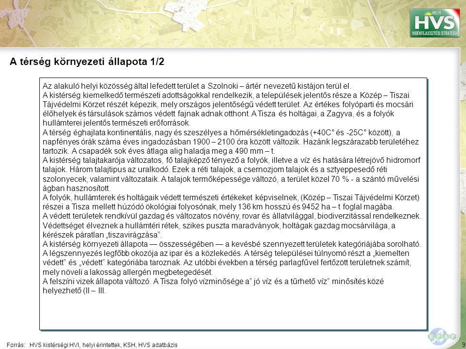 9 Az alakuló helyi közösség által lefedett terület a Szolnoki – ártér nevezetű kistájon terül el.