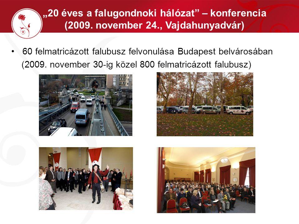 """""""20 éves a falugondnoki hálózat – konferencia (2009."""