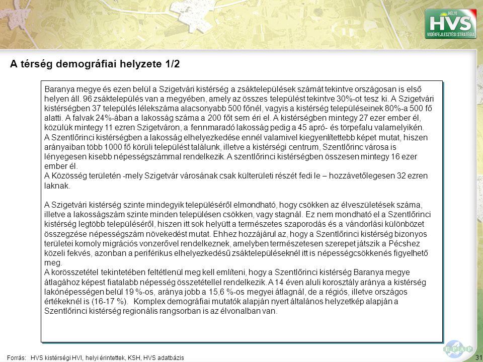 31 Baranya megye és ezen belül a Szigetvári kistérség a zsáktelepülések számát tekintve országosan is első helyen áll.