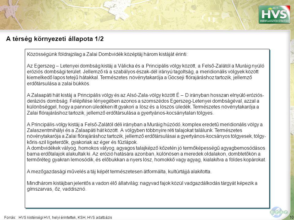10 Közösségünk földrajzilag a Zalai Dombvidék középtáj három kistáját érinti: Az Egerszeg – Letenyei dombság kistáj a Válicka és a Principális völgy között, a Felső-Zalától a Muráig nyúló eróziós dombsági terület.