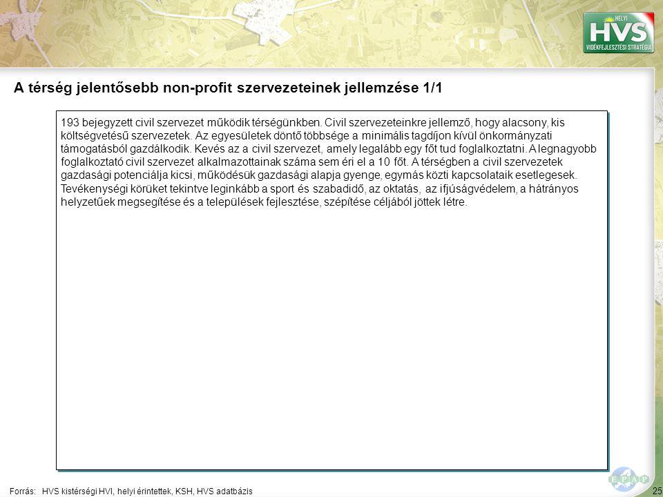 25 193 bejegyzett civil szervezet működik térségünkben.