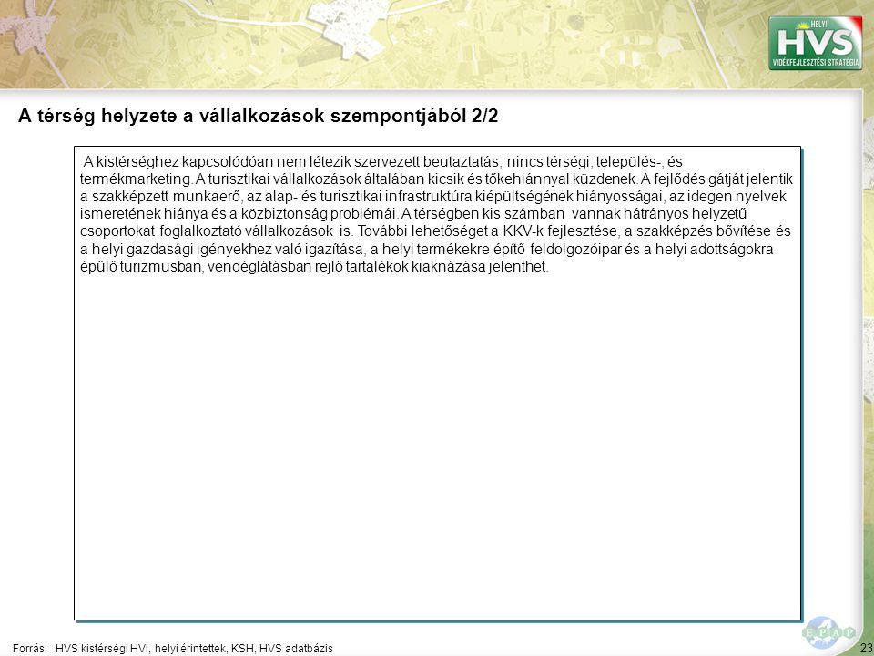 23 A kistérséghez kapcsolódóan nem létezik szervezett beutaztatás, nincs térségi, település-, és termékmarketing.