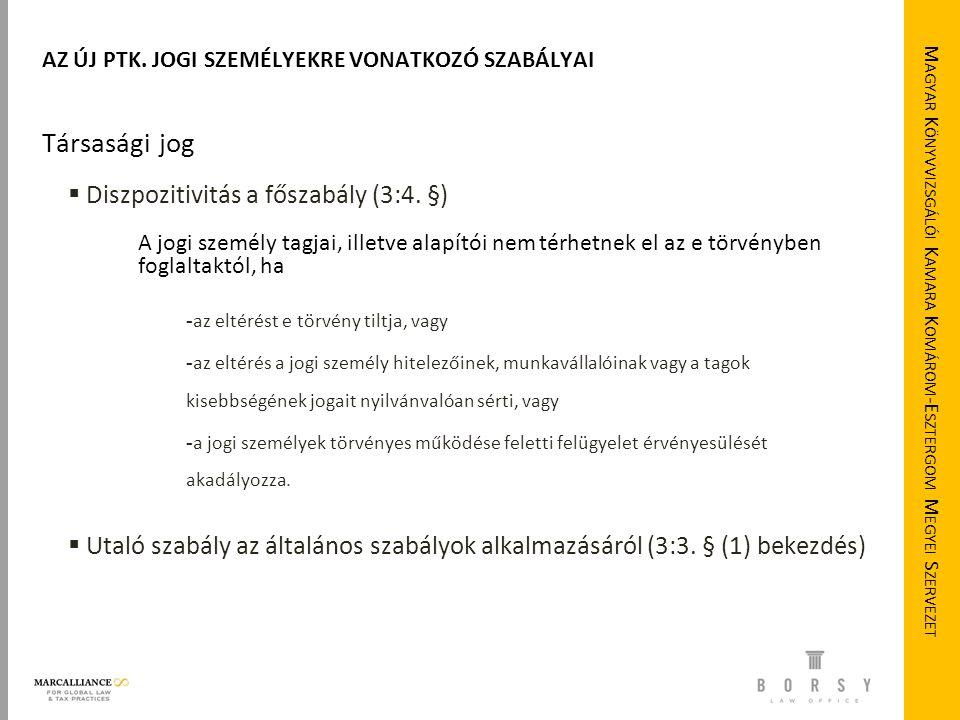 GYÓGYSZERTÁR-MŰKÖDTETÉS 2014 4 CTV. MÓDOSÍTÁSOK