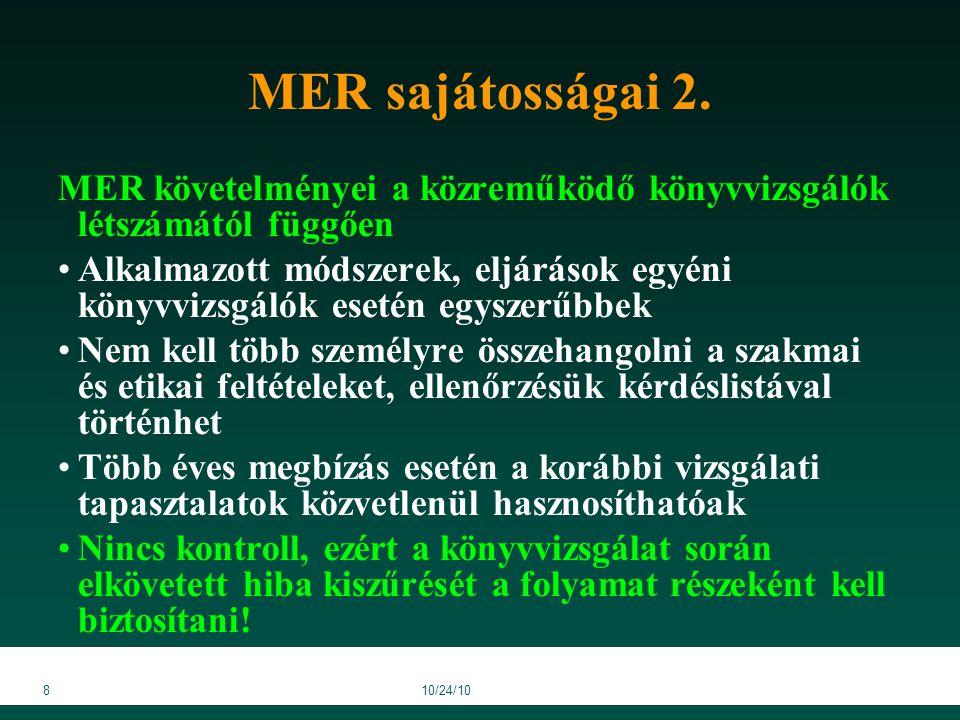 3910/24/10 MER ellenőrzésének kérdőívei 5/a/6.sz.melléklet (7.