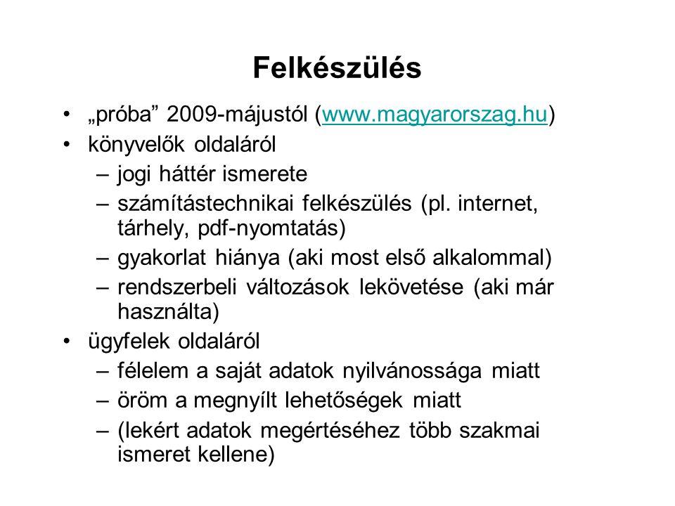 Nyilvánosság biztosítása Letétbehelyezés és közzététel - Szt.