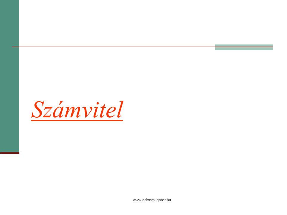 www.adonavigator.hu Számvitel