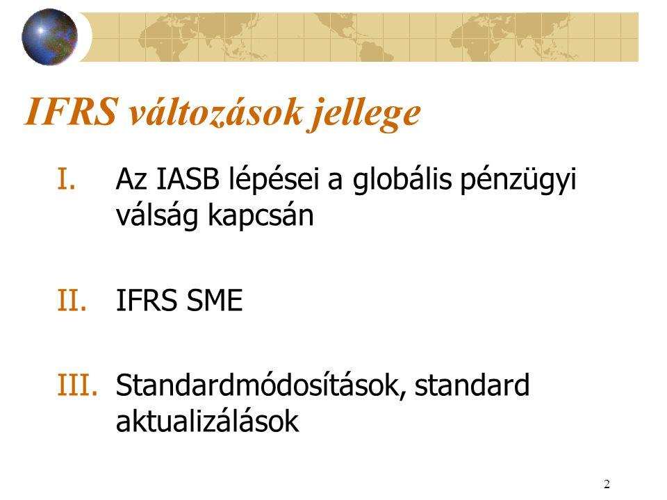 3 I.Az IASB lépései a globális pénzügyi válság kapcsán 2008.