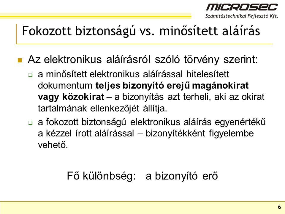 27 Elektronikus számla megőrzése A 114/2007.