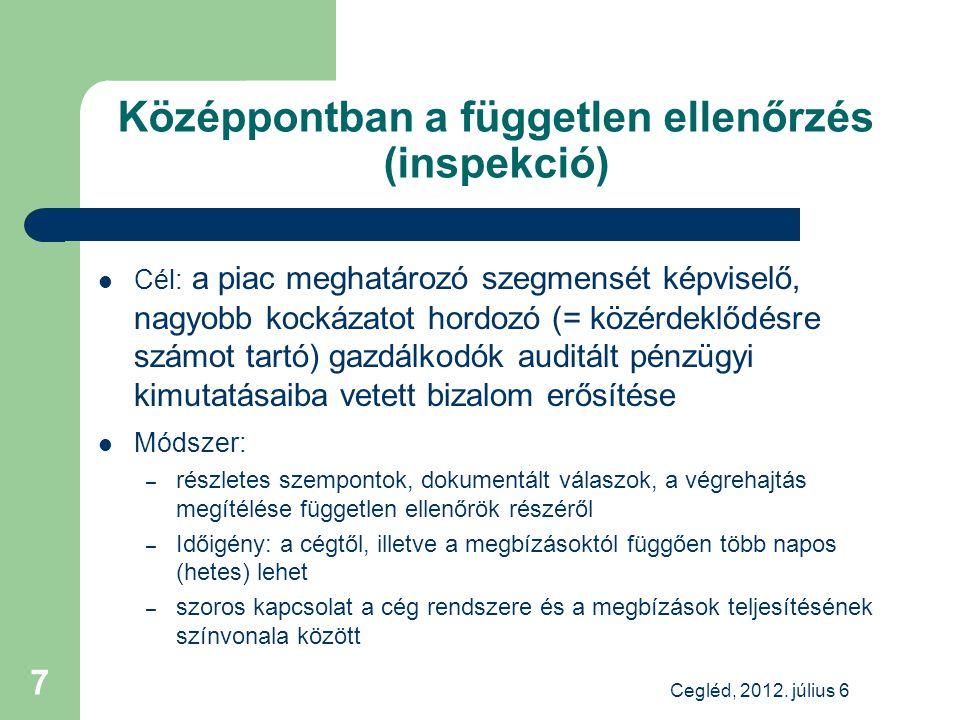 Irányváltás az Európai Unióban Cegléd, 2012. július 6 8