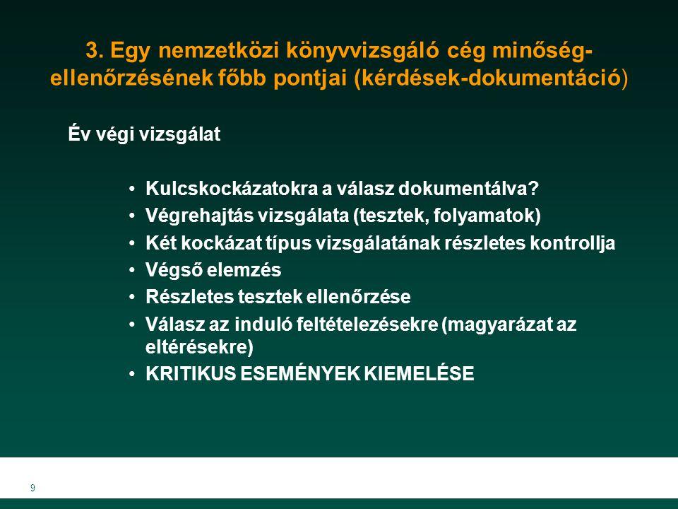 10 4.Magyar szabályozás Új kamarai törvény (2007.