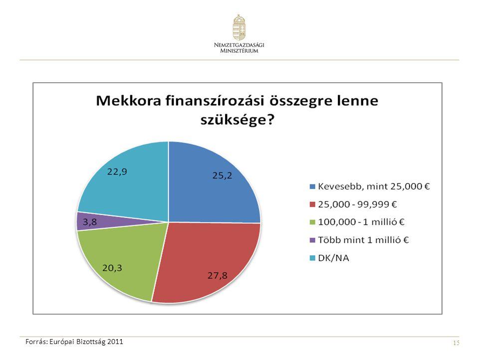 15 Forrás: Európai Bizottság 2011