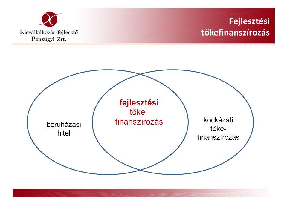 Fejlesztési tőkefinanszírozás a KvfP Zrt.