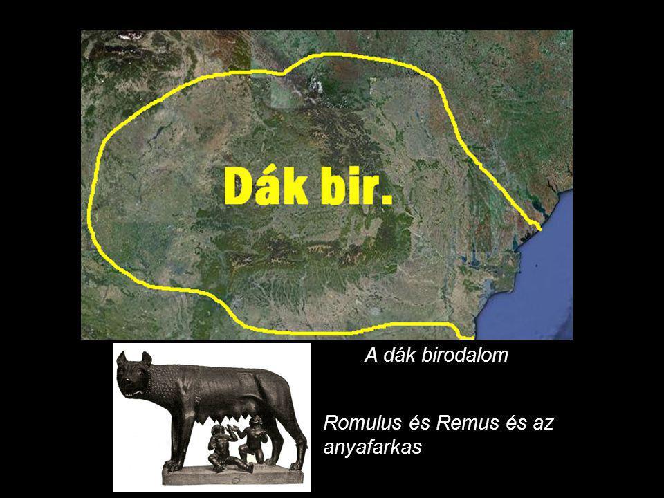 A dák birodalom Romulus és Remus és az anyafarkas
