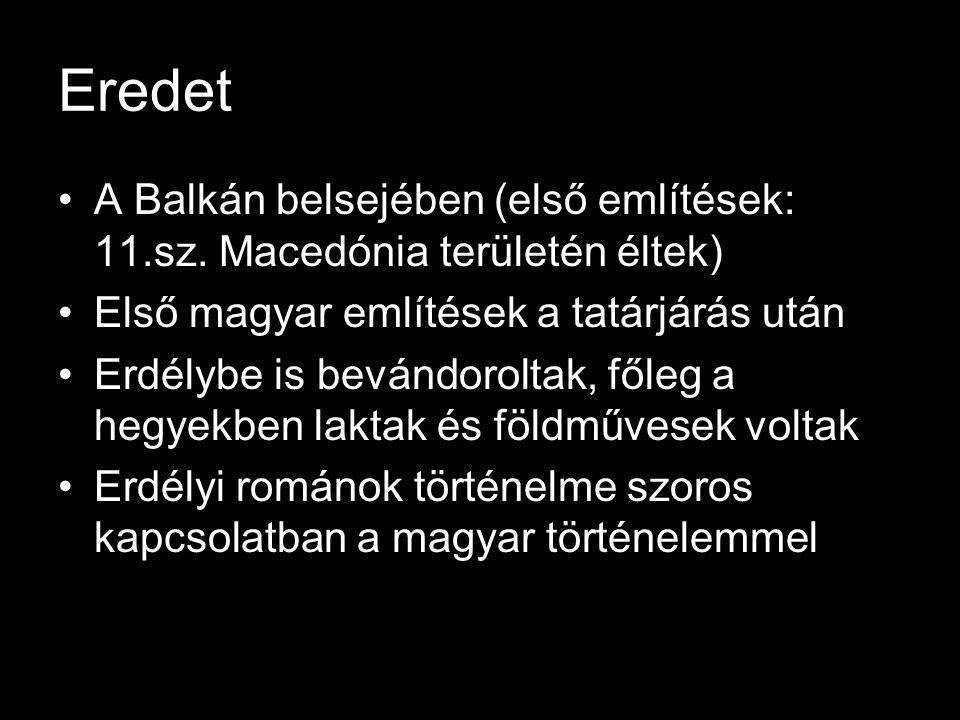 Moldova és Havaselve Két hatalom verseng a területért: tatár, magyar Anjou Nagy Lajos – önálló bánság létrehozása (tatár ellen) – Moldova Kinevezi Dragoşt (uralkodó vajda) Feladat: tatárok elleni védelem Hűbéres állam: adózik a Magyar Királyságnak Magyar király trónra lépése – portánkénti ajándék a vlachoktól 1324 Basarab havaselvei fjd.