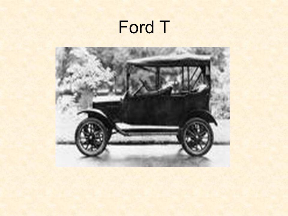 Ford T modell Ford Mustang Az első Ford modell