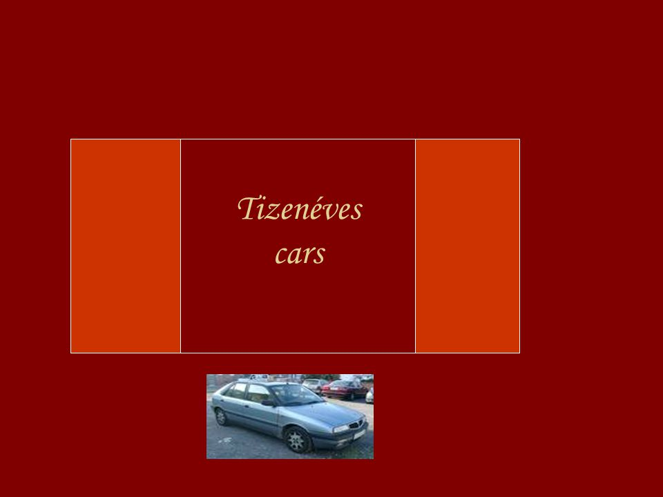 Tizenéves cars