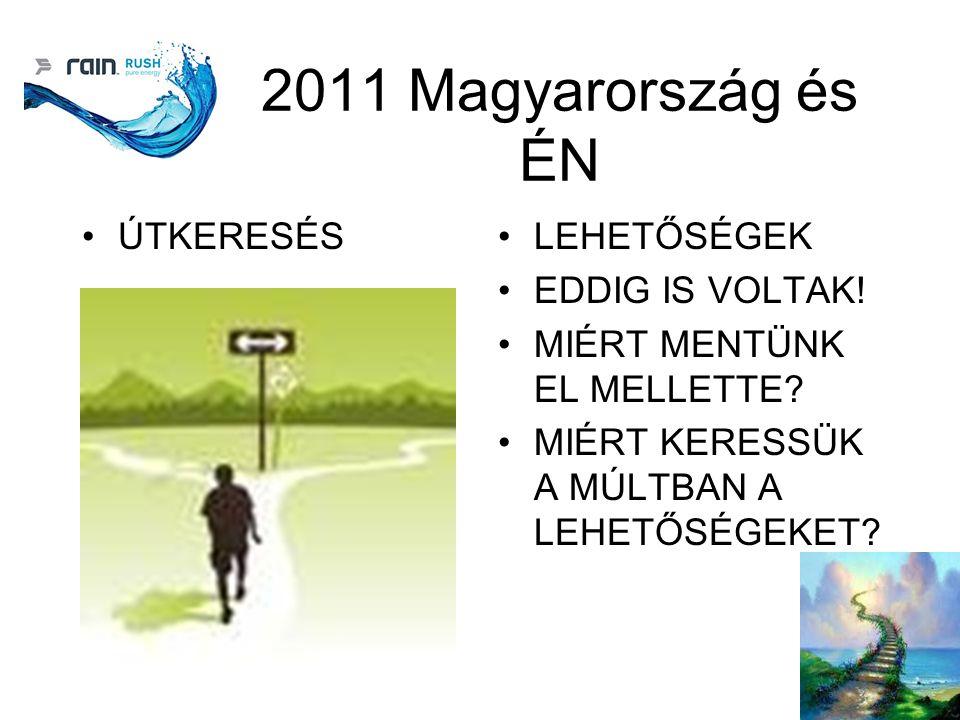 2011 Magyarország és ÉN ÚTKERESÉSLEHETŐSÉGEK EDDIG IS VOLTAK.