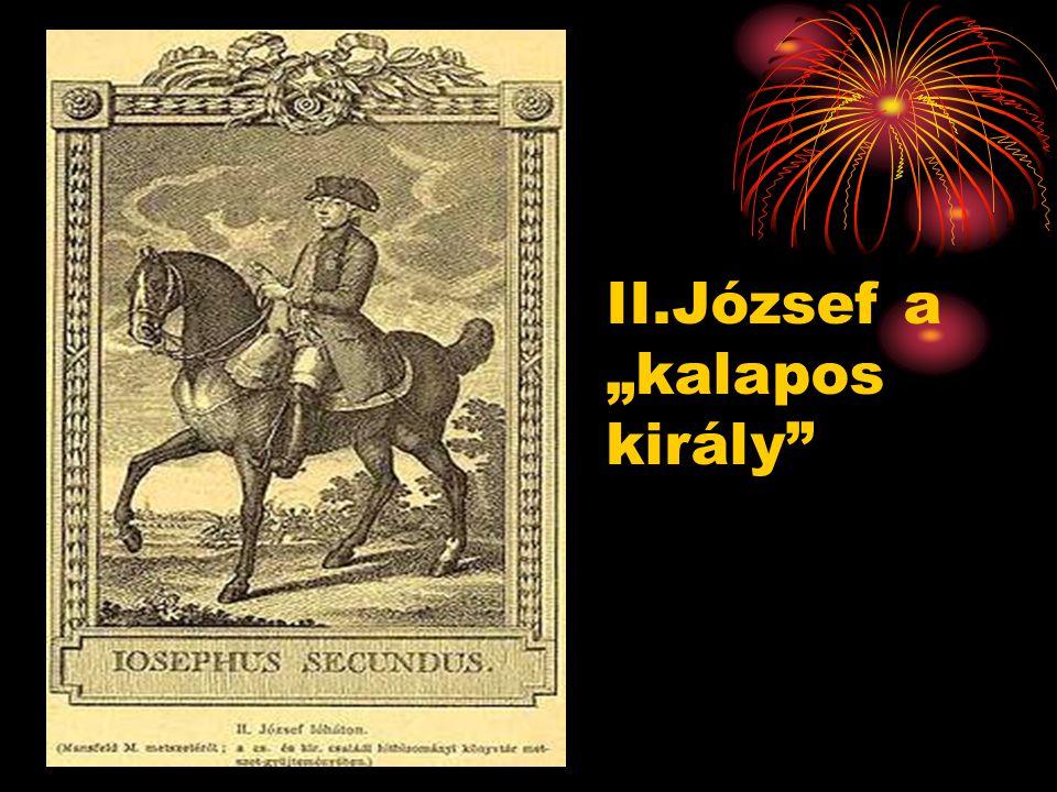 "II.József a ""kalapos király"""