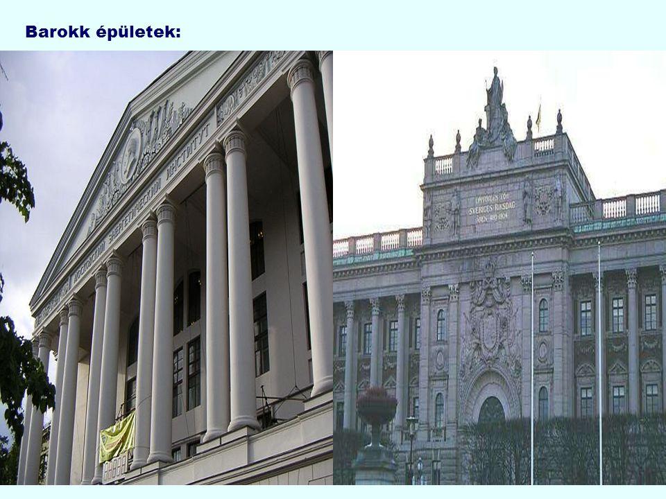 Barokk épületek:
