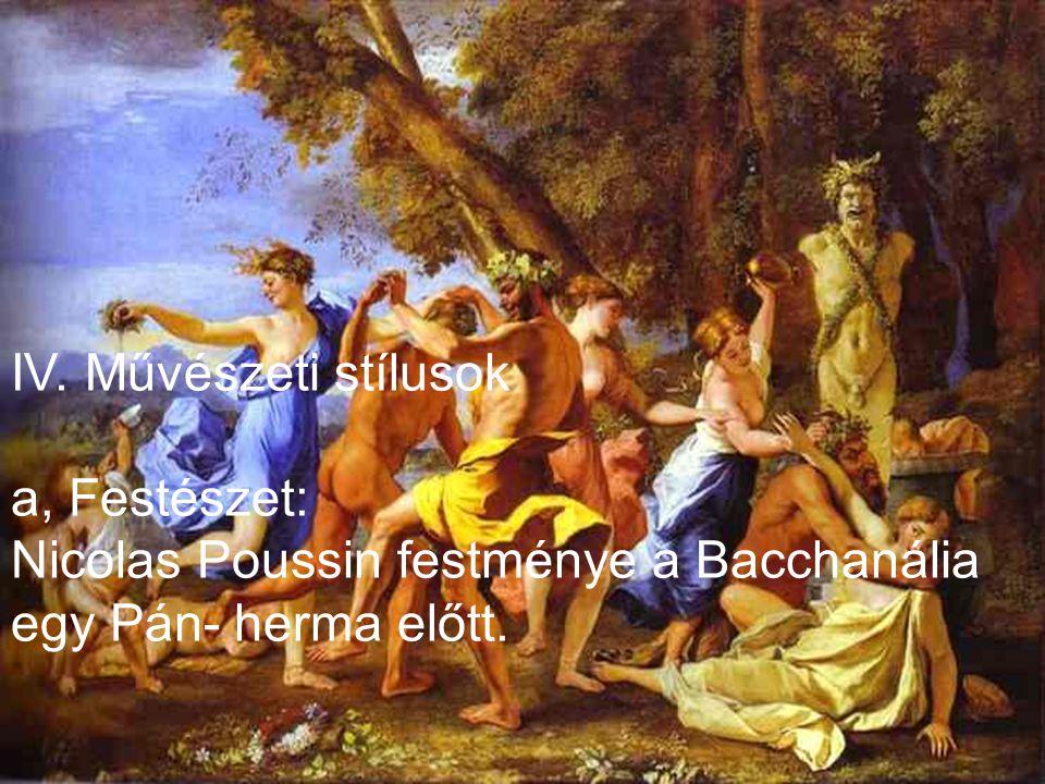 III. Célja Az emberek lenyűgözése, a katolikus egyház,- uralkodó hatalmának hirdetése.