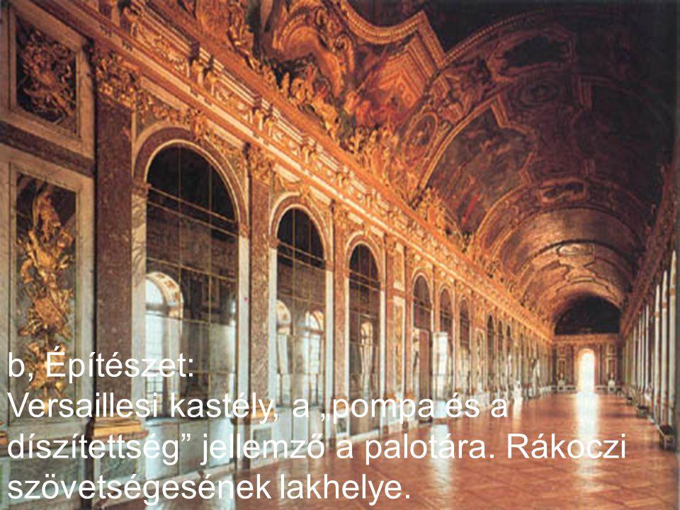 IV. Művészeti stílusok a, Festészet: Nicolas Poussin festménye a Bacchanália egy Pán- herma előtt.