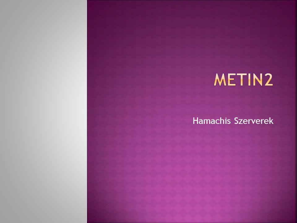 Hamachis Szerverek