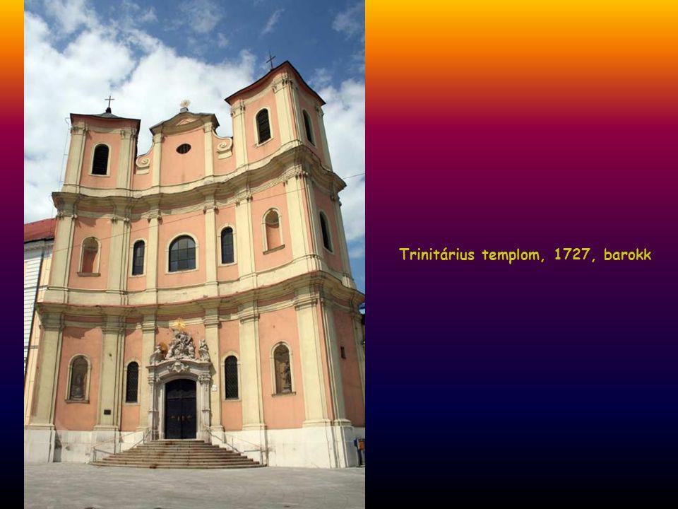 Szent Miklós templom, 1664-ben épült a várnépek számára