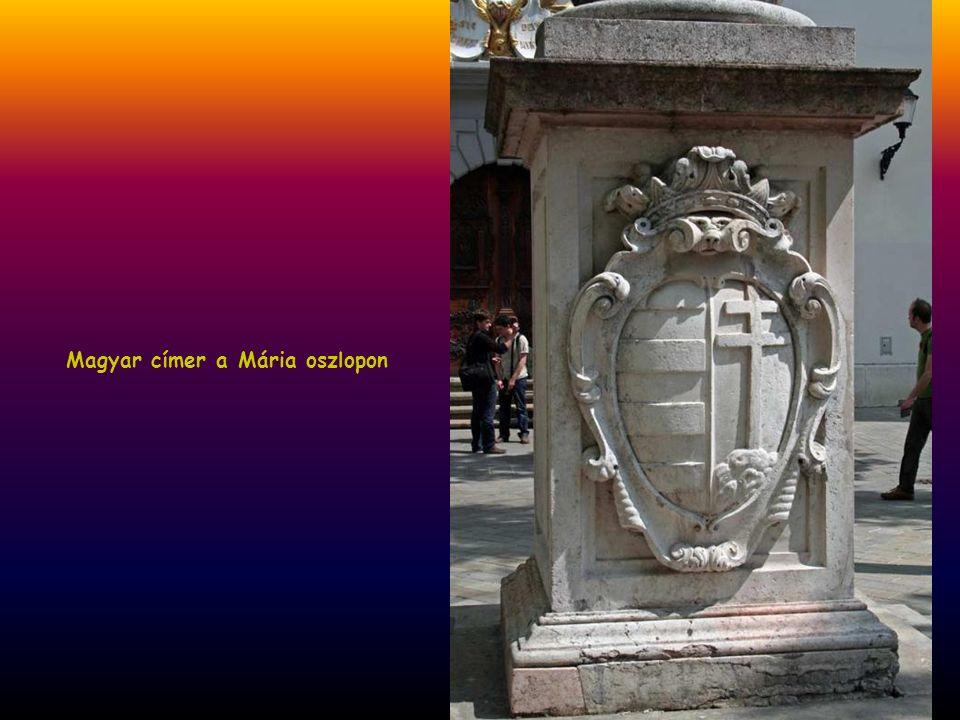 Óváros, Mária oszlop, 1675