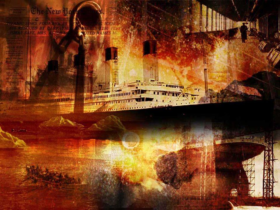 Majd ezt a részt is elárasztotta a víz és elmerülésével semmilyen nyomot nem hagyott maga után a Titanic.