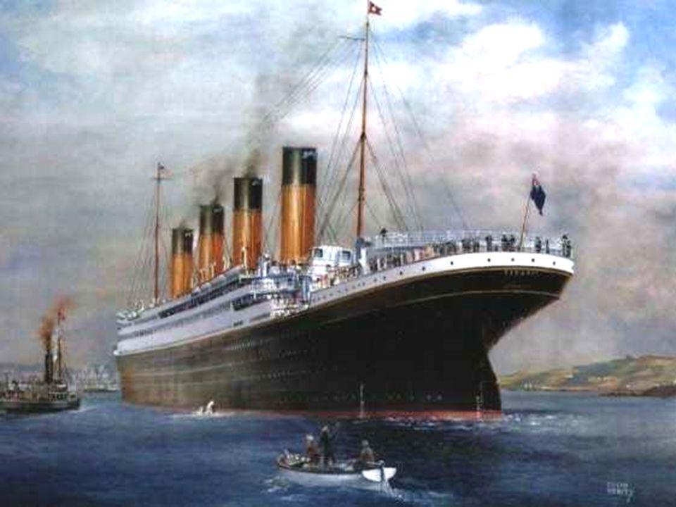 A Titanic folyamatosan hagyta el a kéményeit, míg a hajó fara az óceán szintjével már közel 60°-os szöget zárt be.