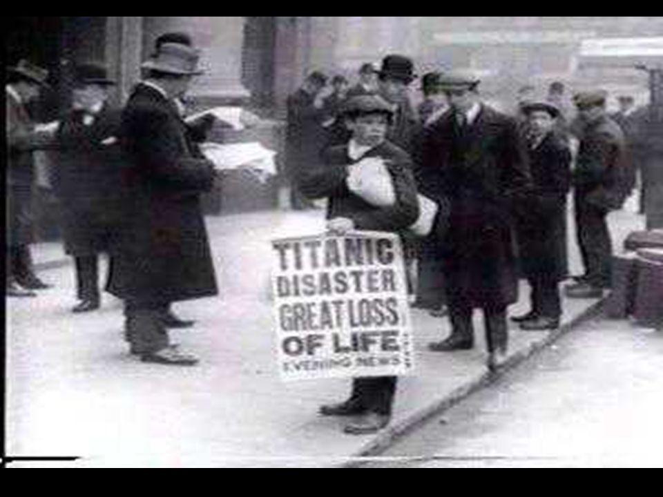 A TITANIC ELSÜLLYEDÉSE HATÁSA A RÁDIÓKRA 1912-ben a Titanic jéghegynek ütközött és leadta az első SOS-jelet, amit egy közeli hajón fogtak is. Ez a haj