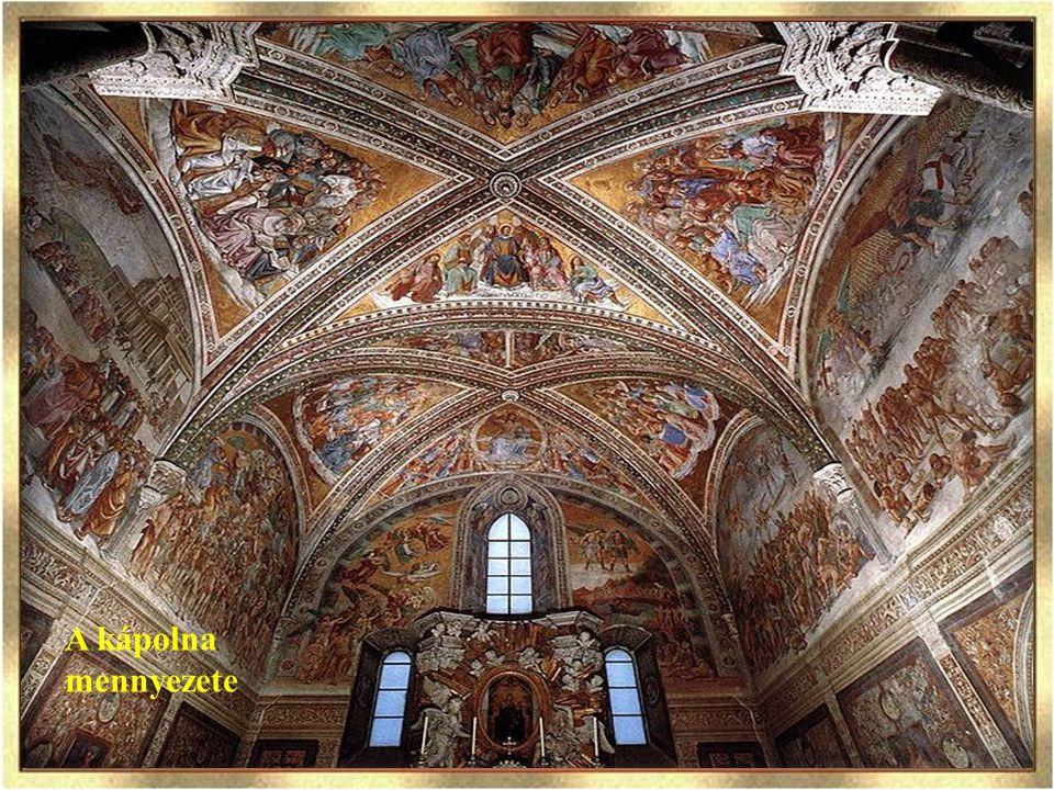 Apokalipszis A dóm szentélyétől jobbra nyílik a Capella Nouva, amelynek világhírű festménysorozata Itália egyik legnagyobb művészi élményét nyújtja és