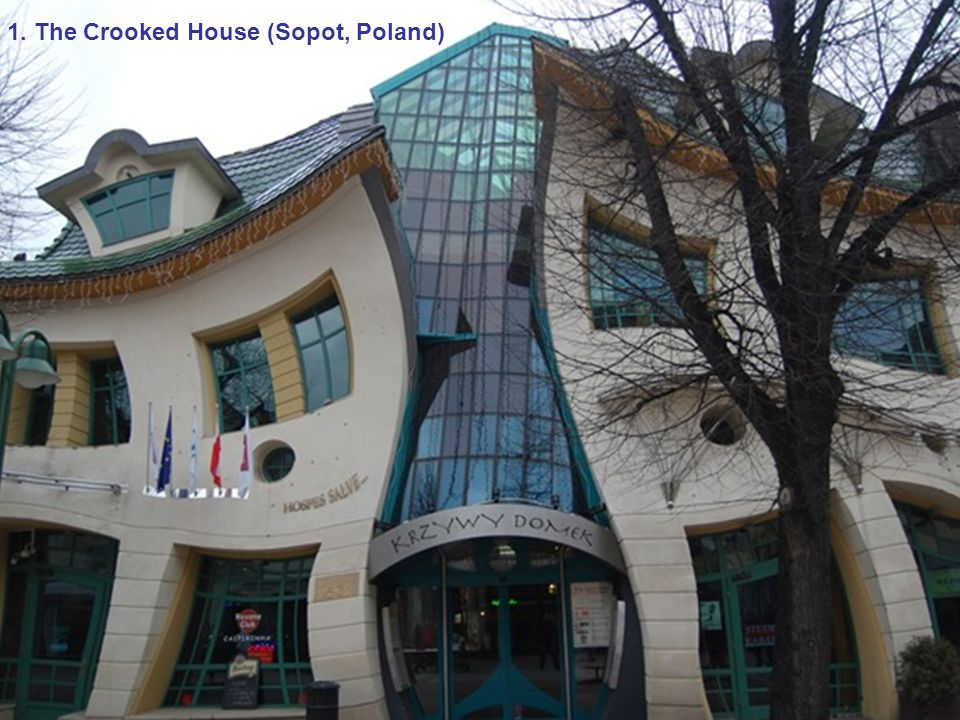 11. Chapel in the Rock (Arizona, United States)12. Dancing Building (Prague, Czech Republic)