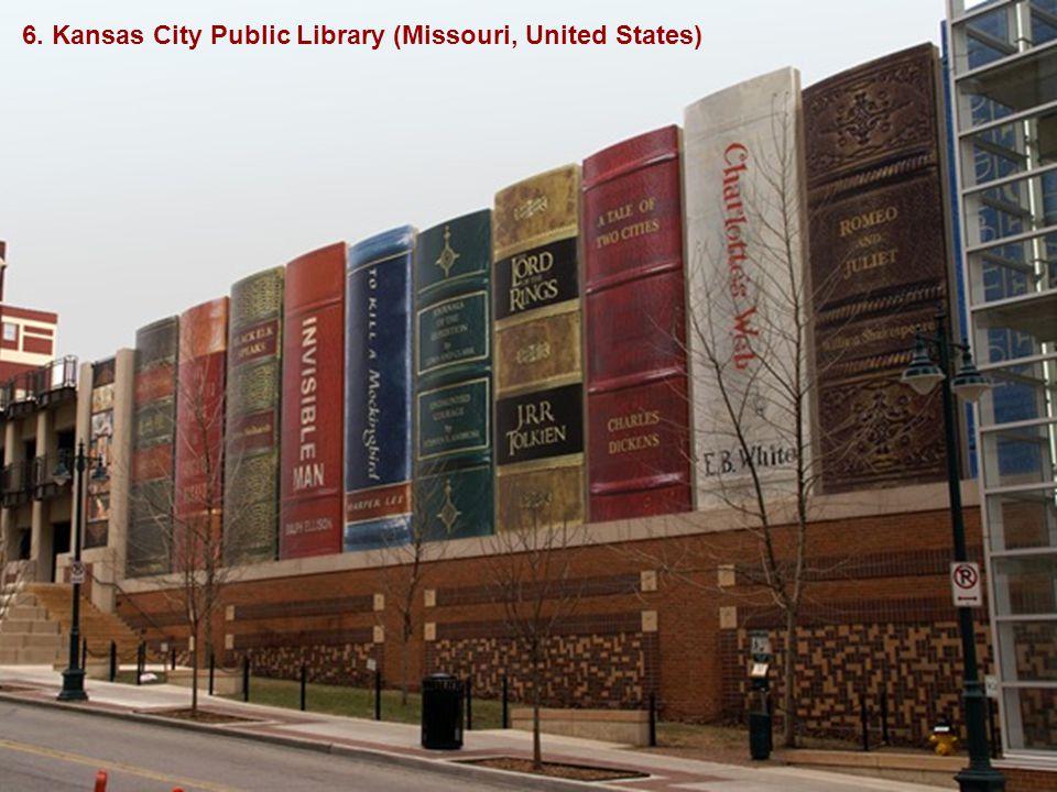 6. Kansas City Public Library (Missouri, United States)
