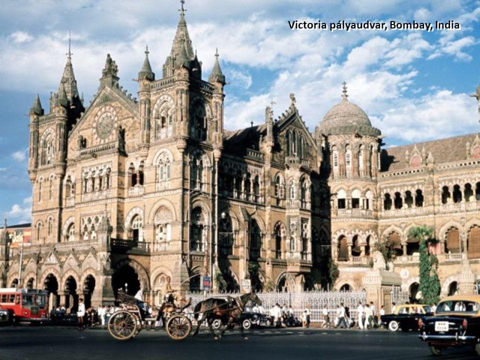 Victoria pályaudvar, Bombay, India