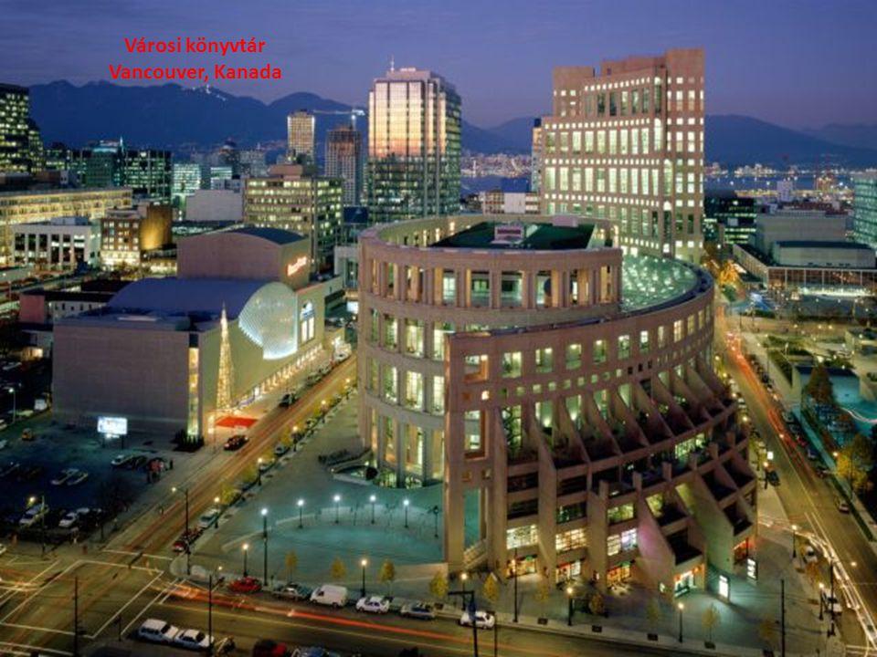 Városi könyvtár Vancouver, Kanada