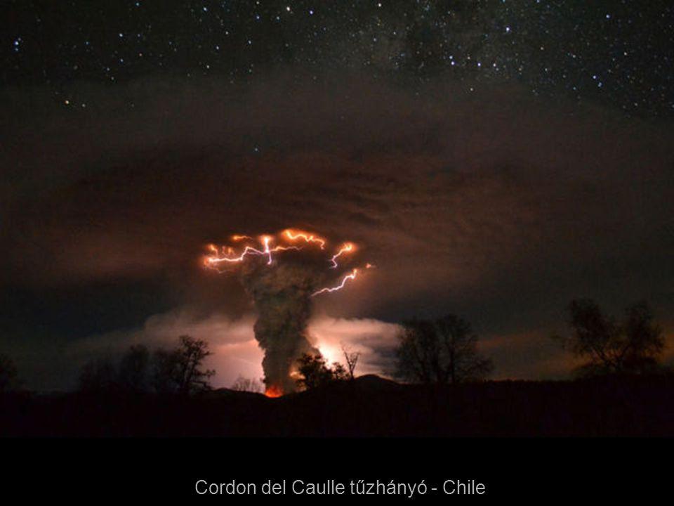 Cordon del Caulle tűzhányó - Chile