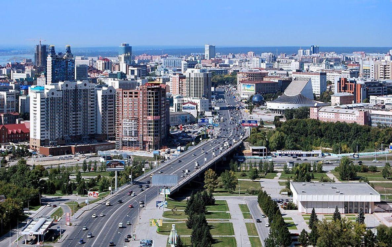 3335 km Novoszibirszk (Oroszország 3. legnagyobb városa)
