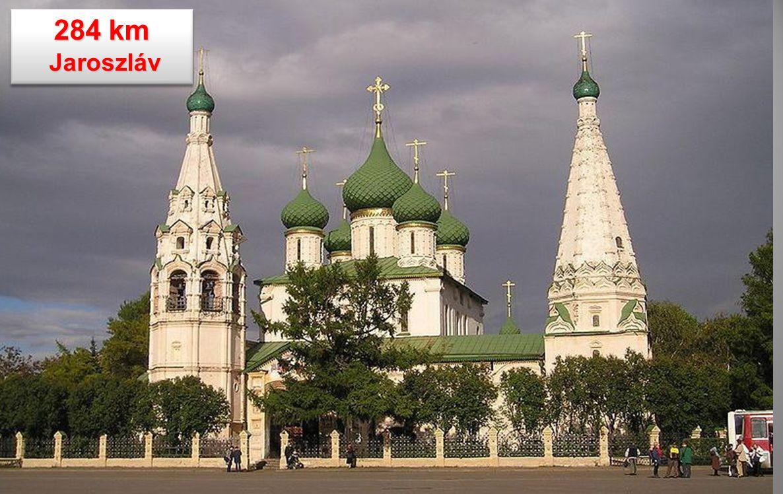 0 km Moszkva Moszkva Jaroszláv-pályaudvar Jaroszláv-pályaudvar