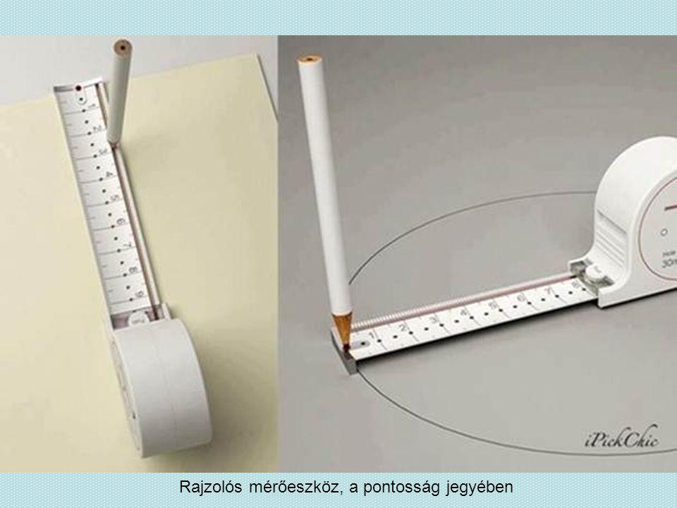 Rajzolós mérőeszköz, a pontosság jegyében