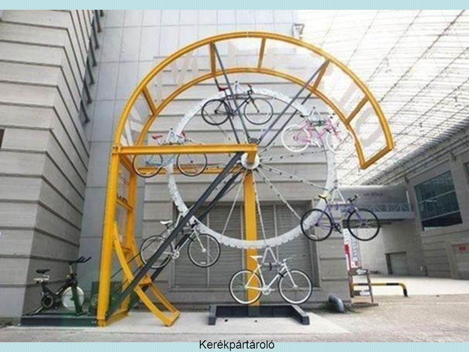 Kerékpártároló