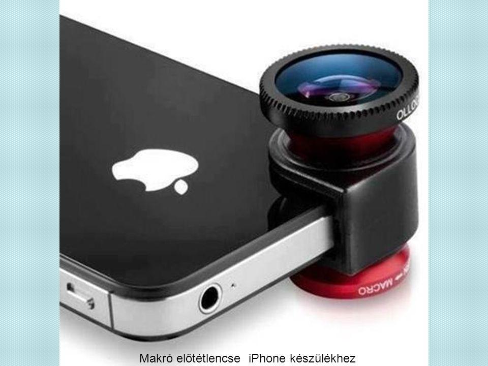 Makró előtétlencse iPhone készülékhez