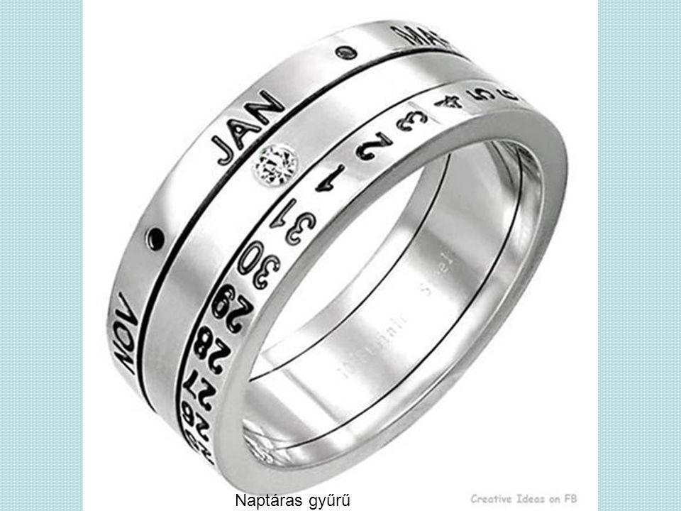 Naptáras gyűrű