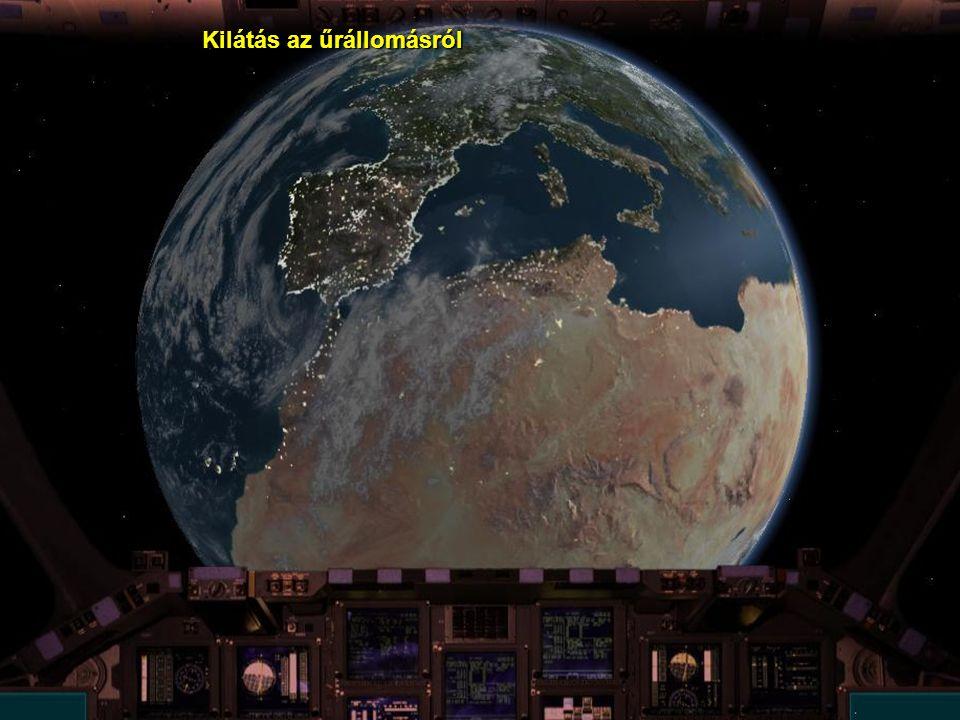 A Hubble űrteleszkóp egy, a földfeszíntől 593 km magasságban orbitális pályára helyezett, 28.000 km/h sebességű távcső. Az 1990 április 24-én fellőtt,