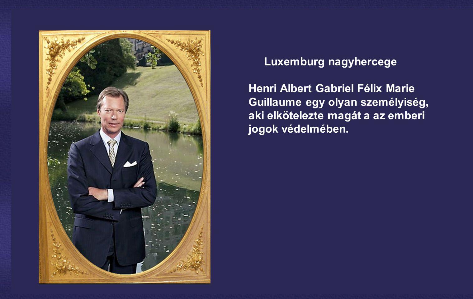 A Luxemburgi Nagyhercegség monarchia, ahol Henri nagyherceg és a kabinet nagy hatáskörökkel rendelkezik...