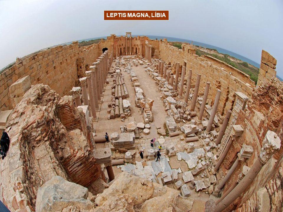 LEPTIS MAGNA, LÍBIA